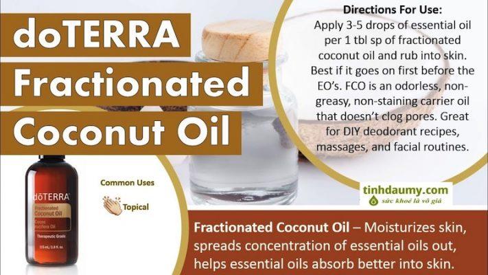 Dầu dừa Phân đoạn doterra Fractionated Coconut Oil
