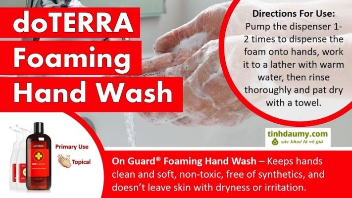 Nước rửa tay On Guard ® Foaming Hand Wash