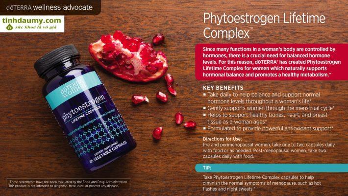Phytoestrogen Complex ™ - Nội tiết tố nữ