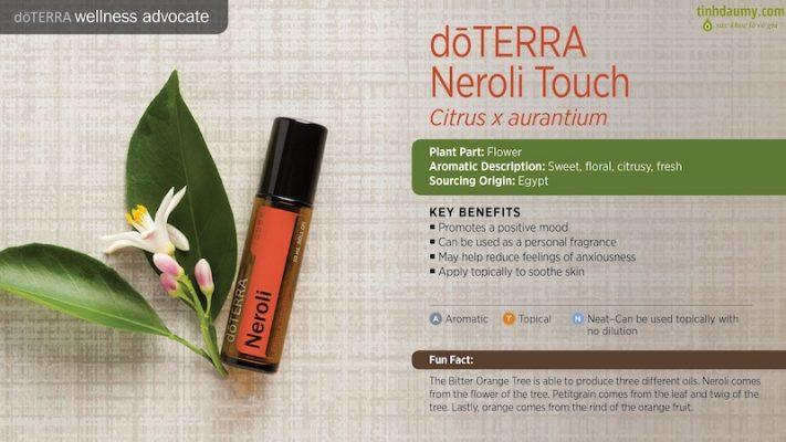Tinh dầu Cam bi lăn Neroli Touch