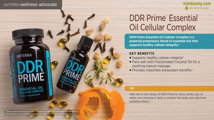 Hỗ trợ cho tế bào dạng viên DDR Prime® Softgels
